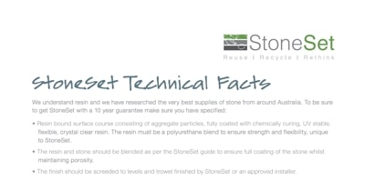 stoneset-technical-facts