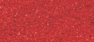 Busby Red Coloured Recycled Glass
