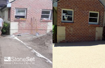 Private Permeable Driveway & Pathway, Cremorne