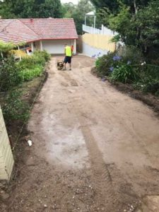 2801, Pymble NSW, Kirribilli Red, Porous Driveway Before
