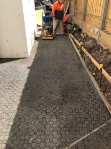 2969, Pascoe VIC, Porous Pathway, 6mm Charcoal Cream Durring