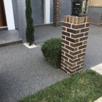 permeable paving Entry driveway