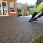 Porous paving, permeable paving, outdoor paving, alternative to paving