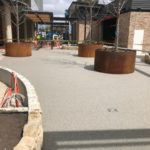 Shopping Centre Paving for Westfield