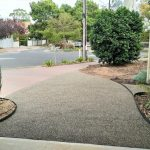 DIY Pebble Driveway and Path